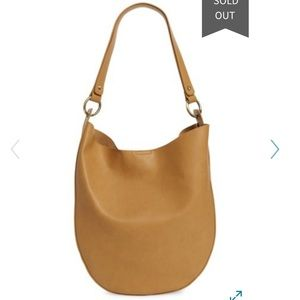 Sole Society MILA faux leather hobo in camel